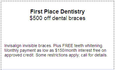 $500 off Invisalign Coupon